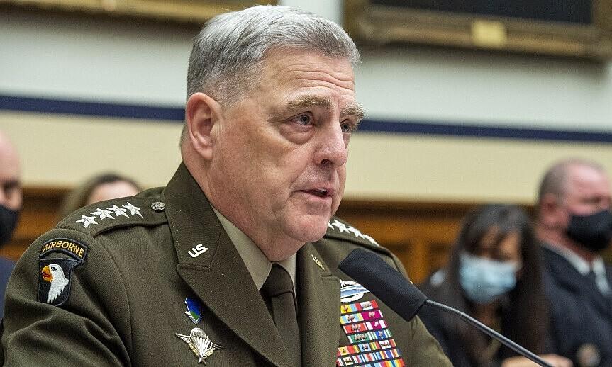 Tướng Milley trong cuộc điều trần trước Ủy ban Quân vụ Hạ viện Mỹ hôm 29/9.