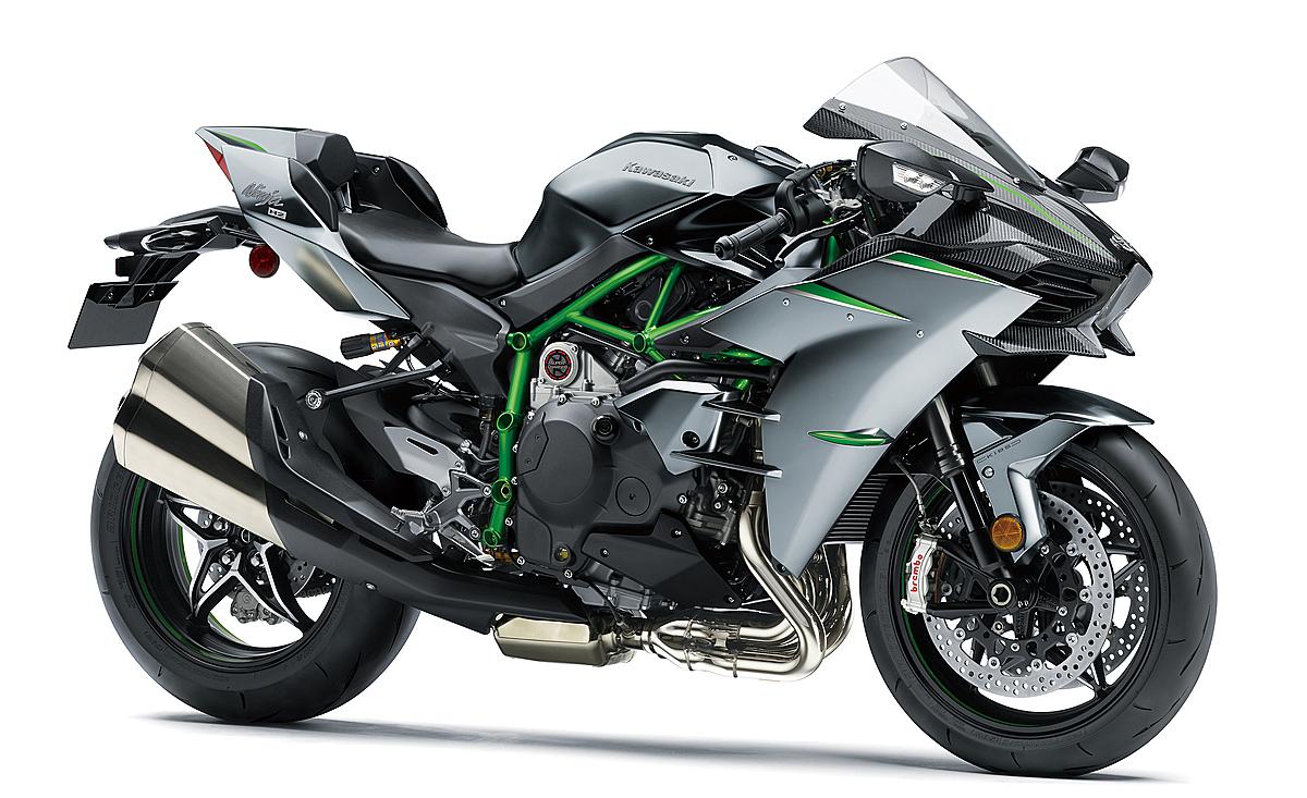Ninja H2 Carbon phiên bản màu đen mờ. Ảnh: Kawasaki