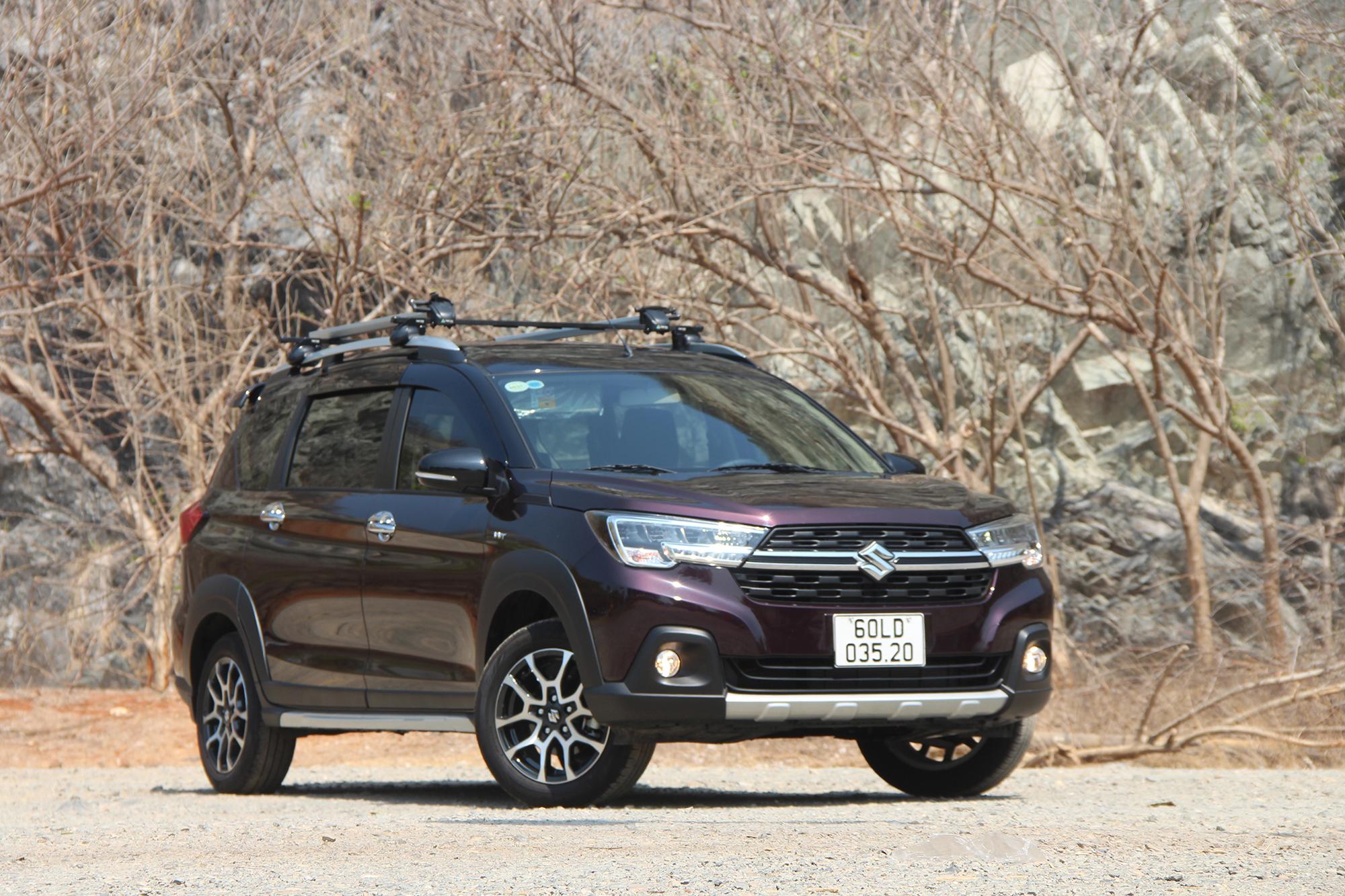 Mẫu XL7 chiếm doanh số chính trong mảng xe con của Suzuki tại Việt Nam. Ảnh: Thành Nhạn