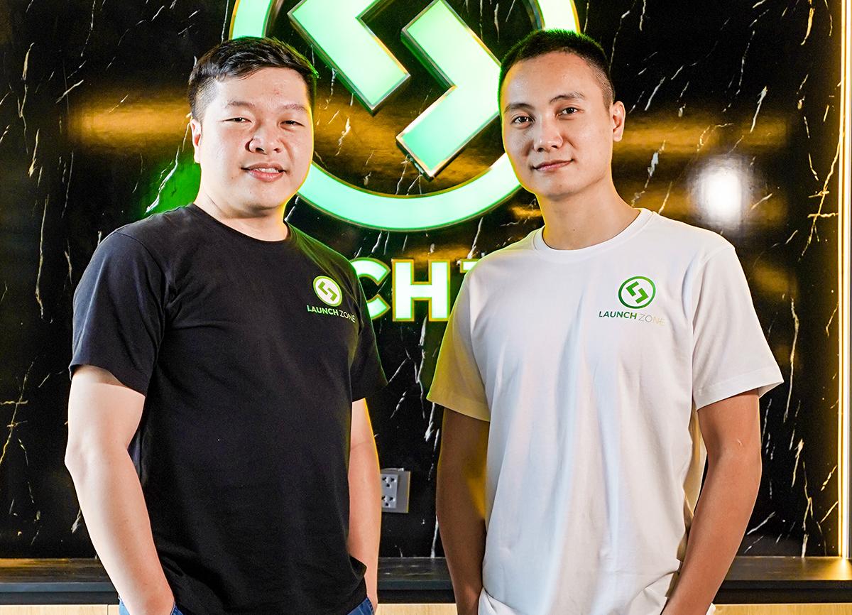 Thanh và Lộc cùng nhau từ những ngày đầu khởi nghiệp. Ảnh: Lê Đăng Hiếu