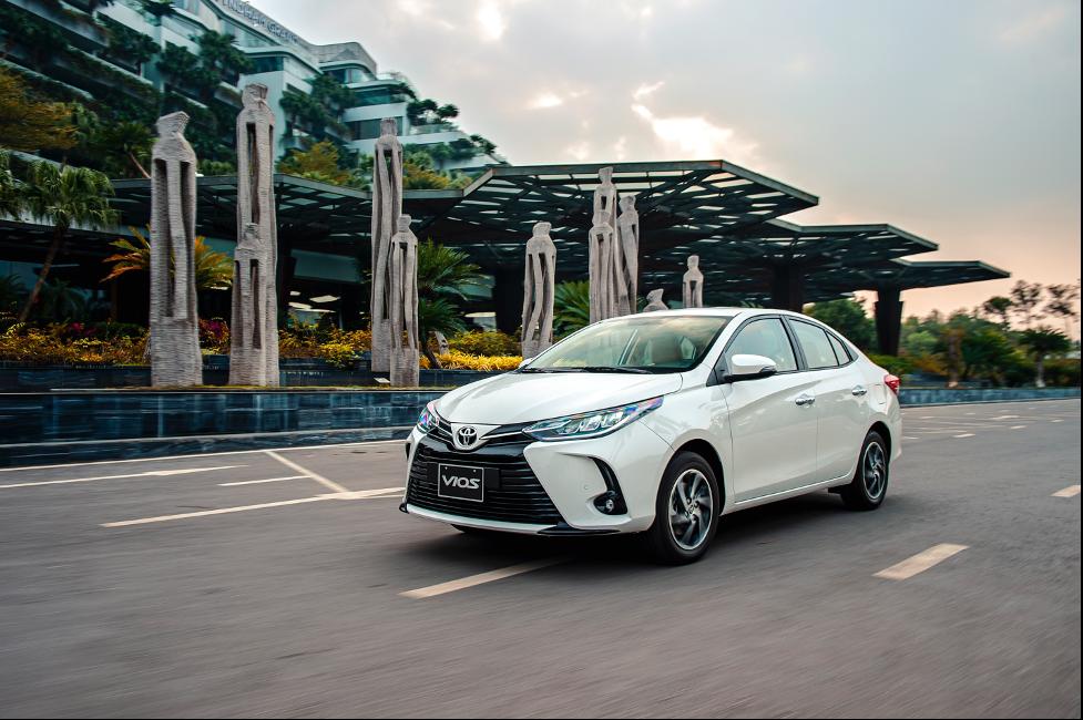 Toyota Vios phiên bản nâng cấp mới nhất tại Việt Nam.