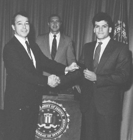 Mark Putnam khi tốt nghiệp học viện FBI, tháng 10/1986. Ảnh: The Line Up