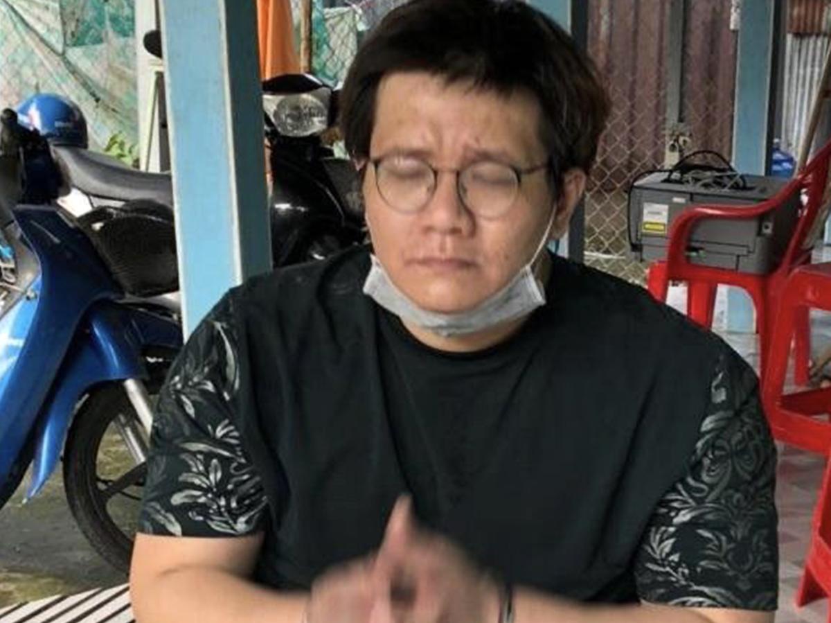 Nhâm Hoàng Khang bị bắt sáng 4/10. Ảnh: Nhật Vy