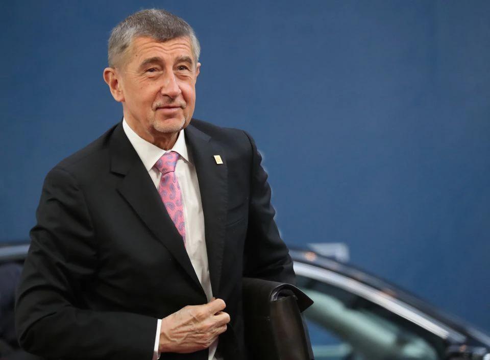 Thủ tướng Cộng hòa Czech Andrej Babis dự hội nghị thượng đỉnh các lãnh đạo Liên minh châu Âu tại Brussels, Bỉ, năm ngoái. Ảnh: Reuters.