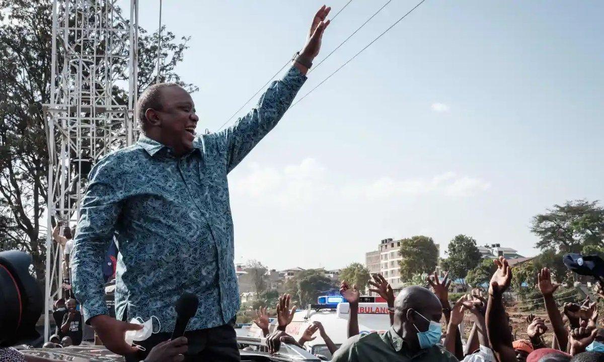 Tổng thống Kenya Uhuru Kenyatta được nêu tên trong Hồ sơ Pandora về khối tài sản ngoại biên hơn 30 triệu USD. Ảnh: AFP.
