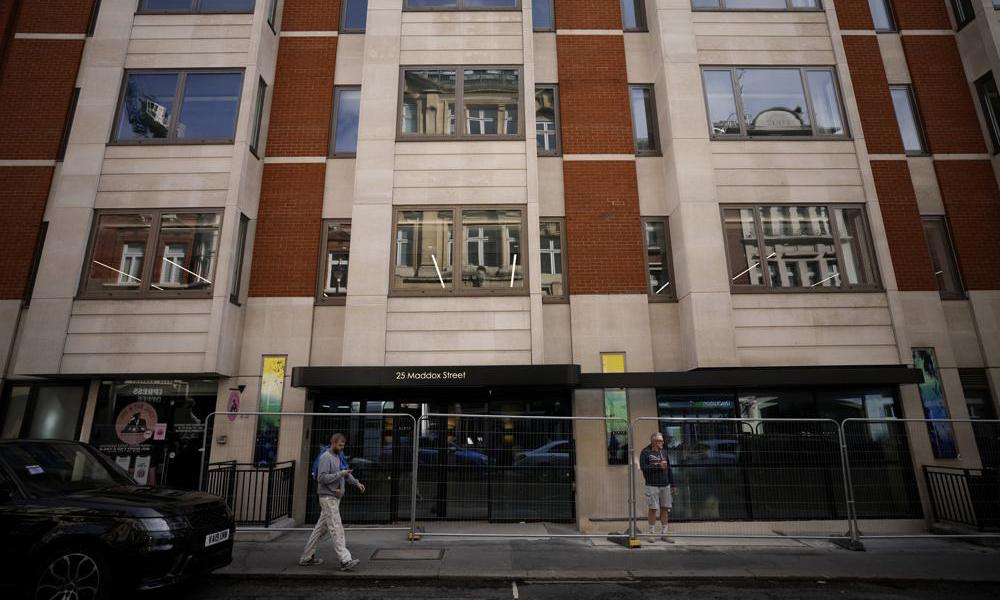 Một con phố thuộc quận Mayfair ở thủ đô London của Anh hôm 4/10. Ảnh: AP,