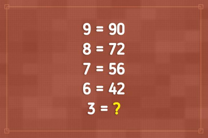 Bốn câu đố kiểm tra IQ