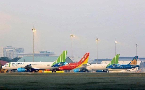Các hãng hàng không sẵn sàng vận chuyển khách trở lại từ 10/10. Ảnh: Phương Linh