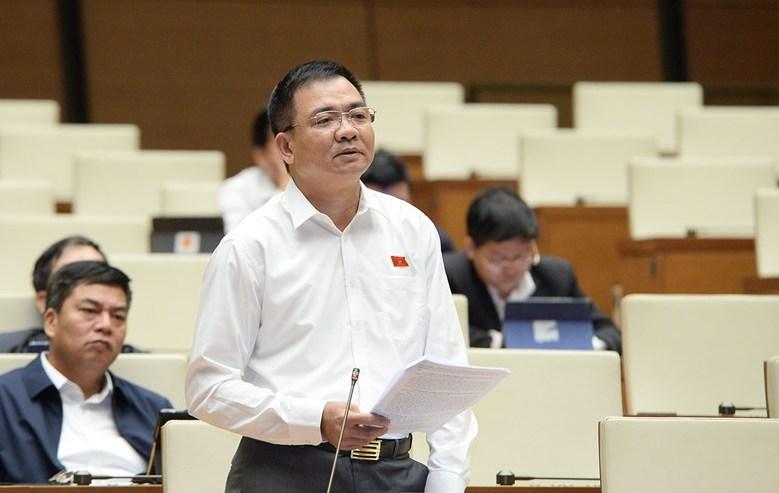Thiếu tướng Nguyễn Minh Đức, Phó Chủ nhiệm Ủy ban Quốc phòng và An ninh. Ảnh: Media QH