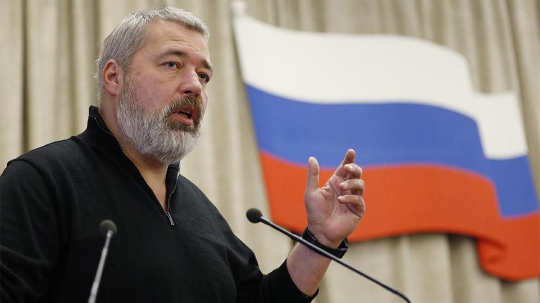 Nhà báo Nga Dmitry Muratov. Ảnh: TASS.
