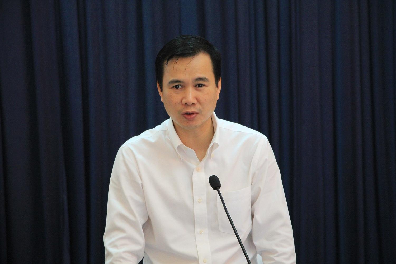 Ông Bùi Thế Duy, Thứ trưởng Bộ KH&CN tại hội thảo. Ảnh: Hiểu Lam