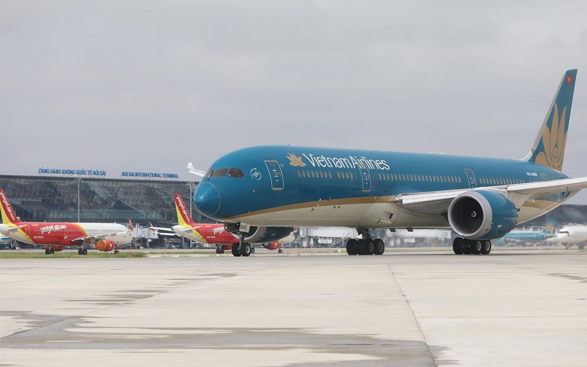 Hà Nội đã thống nhất tiếp nhận máy bay đến Nội Bài. Ảnh: Ngọc Thành.