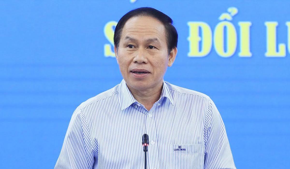Phó Chủ tịch, Tổng Thư ký Ủy ban Trung ương Mặt trận Tổ quốc Việt Nam Lê Tiến Châu. Ảnh: Hoàng Phong