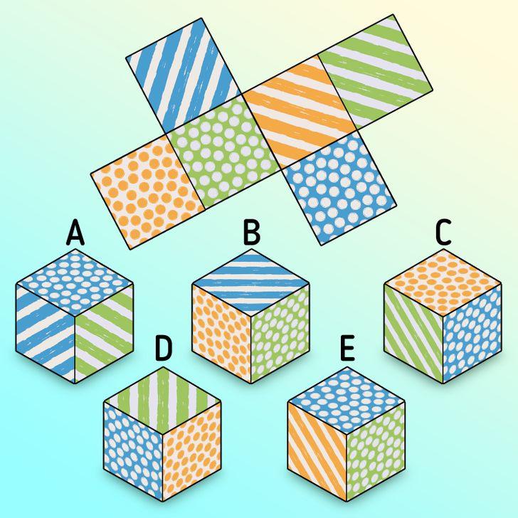 Thử thách tưởng tượng không gian với bốn câu đố