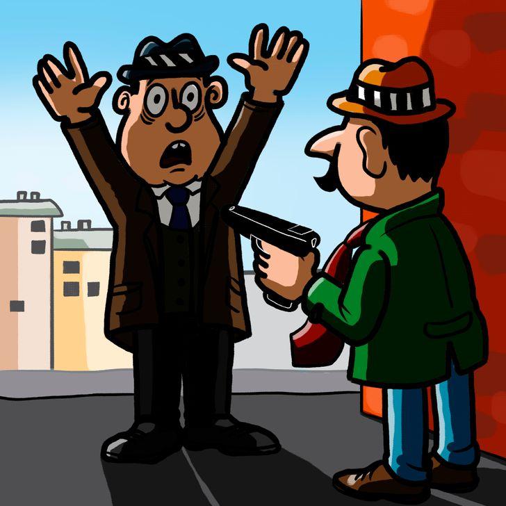 Câu đố: Suy luận tìm thủ phạm ăn trộm ngân hàng