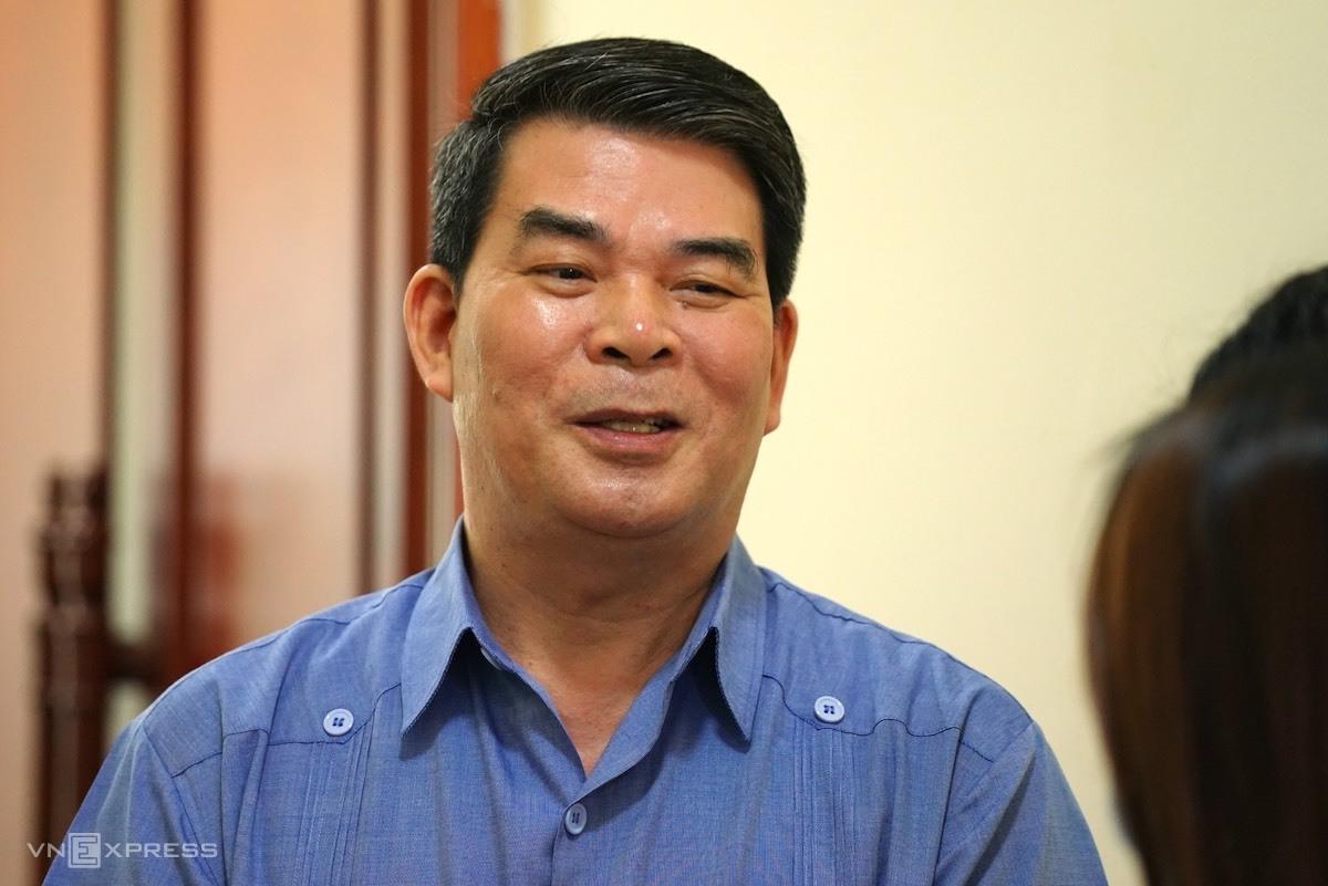 Nguyên Thứ trưởng Nội vụ Nguyễn Tiến Dĩnh. Ảnh: Hoàng Phong