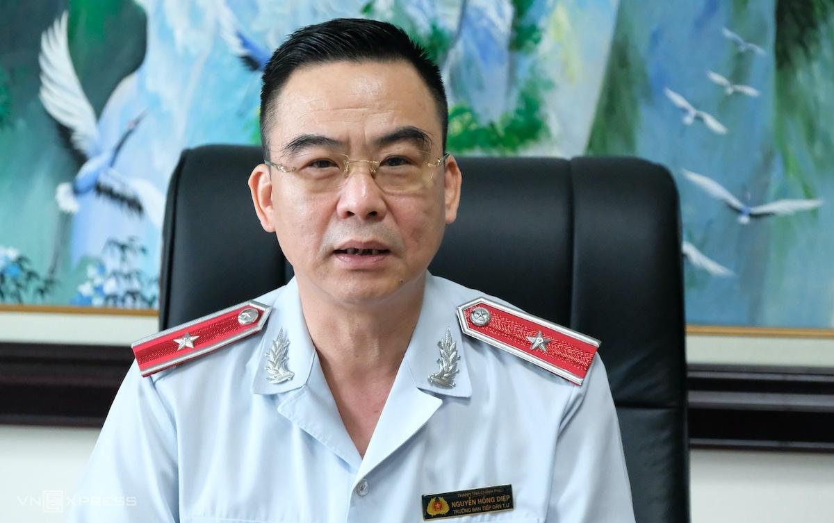 Trưởng Ban Tiếp công dân Trung ương Nguyễn Hồng Điệp. Ảnh: Hoàng Thùy