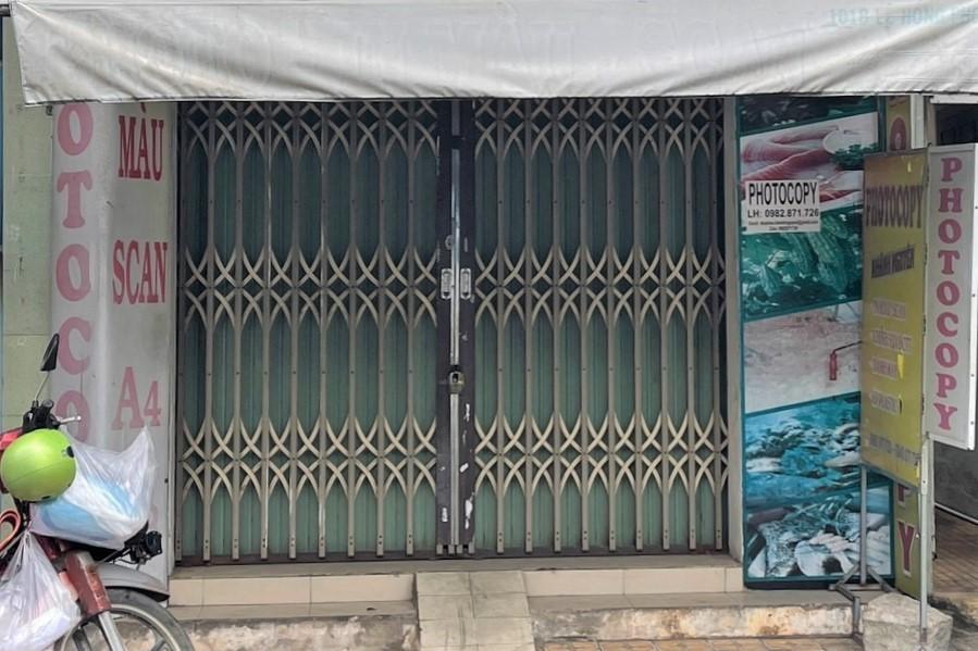 Tiệm photocopy bị nghi vấn làm giấy xét nghiệm giả ở TP Phan Thiết. Ảnh: Tư Huynh