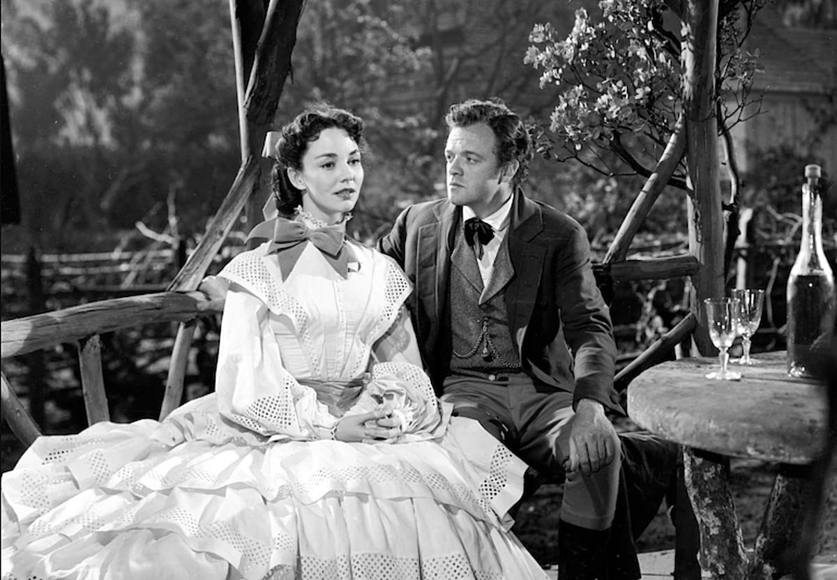 Madame Bovary, trong bộ phim cùng tên được chuyển thể năm 1949 bởi đạo diễn Vincente Minnelli. Ảnh: Turner Classic Movie