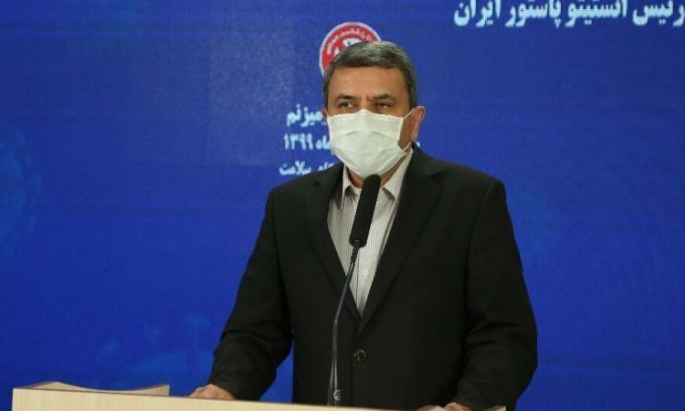 Viện trưởng Viện Pasteur Iran Alireza Biglari. Ảnh: IRNA.