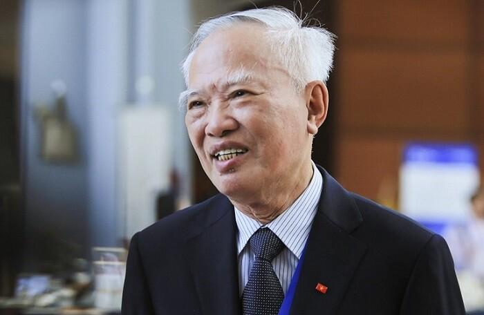 Nguyên Phó thủ tướng Vũ Khoan. Ảnh: VNF