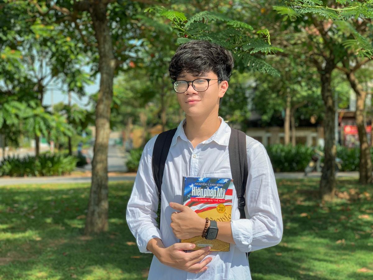 Hà Hải Dương khi còn ở Việt Nam. Ảnh: Nhân vật cung cấp