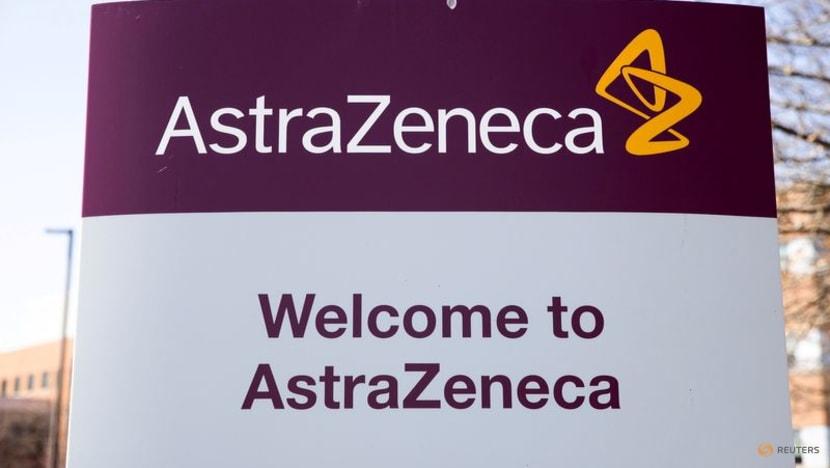 Logo của AstraZeneca bên ngoài trụ sở khu vực Bắc Mỹ của công ty tại thành phố Wilmington, bang Delaware, Mỹ hồi tháng 3. Ảnh: Reuters.