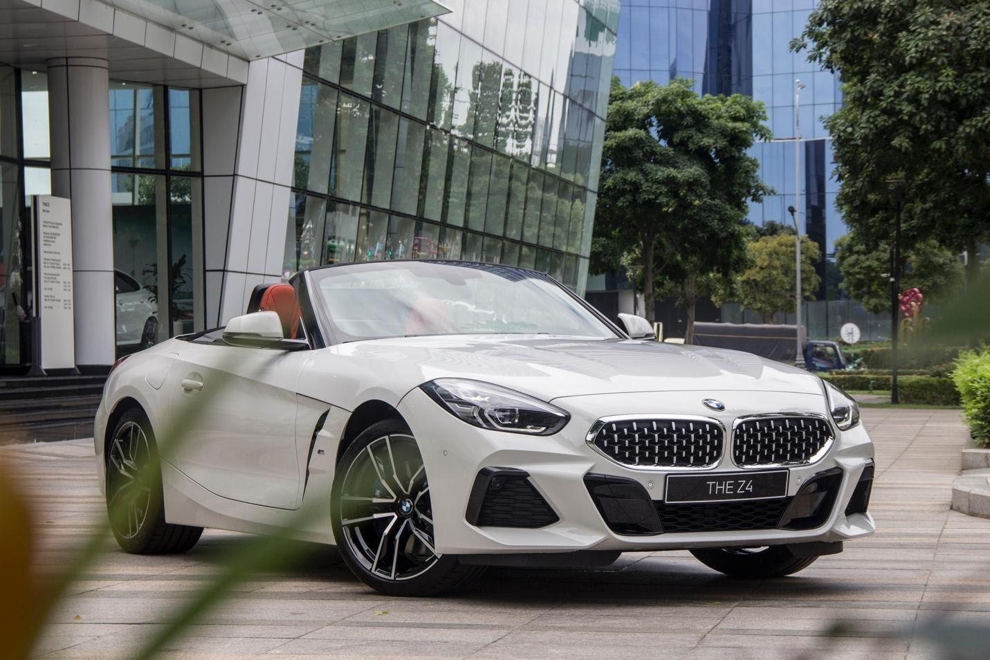 Thiết kế ngoại thất BMW Z4 thế hệ mới.