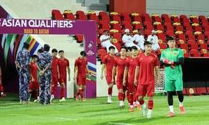 Việt Nam 'tổng duyệt' trước trận Oman