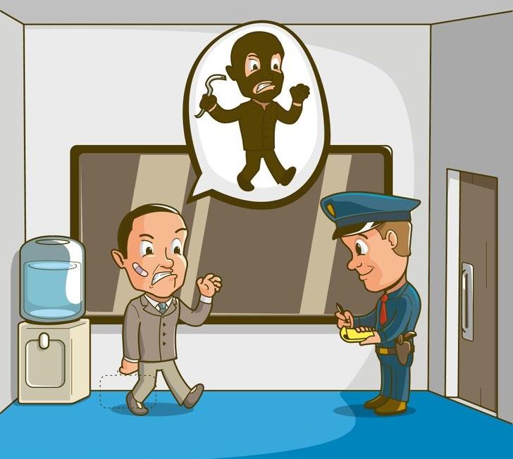 Câu đố: Suy luận tìm thủ phạm dựa vào lời khai và hình vẽ
