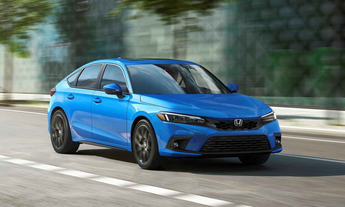 Civic hatchback 2022 tại Mỹ. Ảnh: Honda