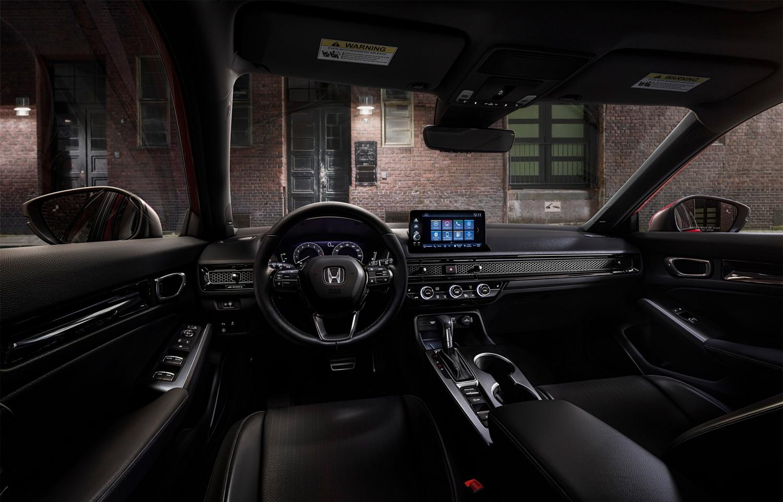 Trên bản cao nhất có đồng hồ kỹ thuật số và màn hình 9 inch cho hệ thống thông tin giải trí. Ảnh: Honda