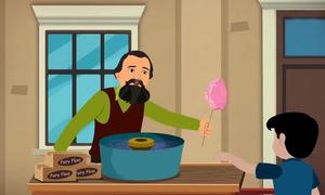 Nha sĩ thích ngọt phát minh máy làm kẹo bông