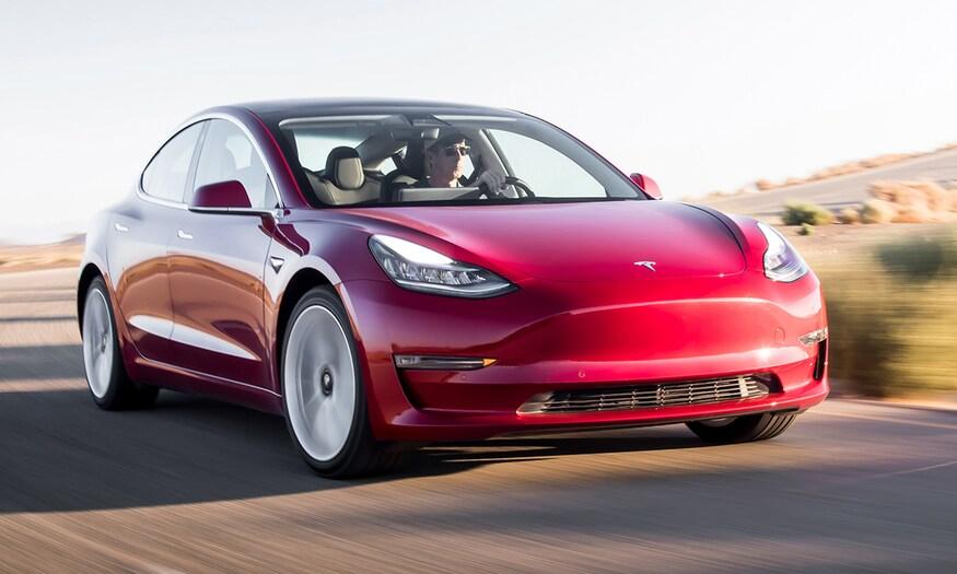 Model 3 có thể là mẫu xe đầu tiên của Tesla bán tại Ấn Độ. Ảnh: Motor Trend