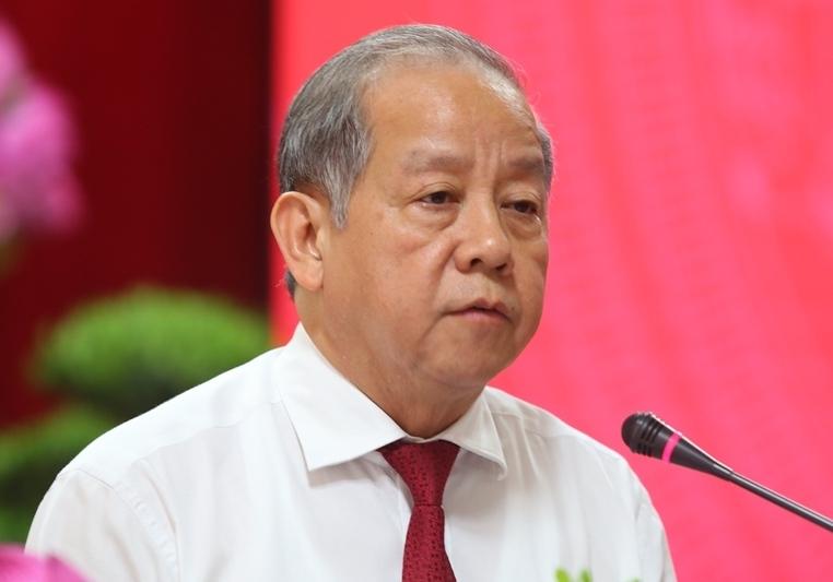 Ông Phan Ngọc Thọ khi còn giữ chức Chủ tịch UBND tỉnh Thừa Thiên Huế. Ảnh: Võ Thạnh