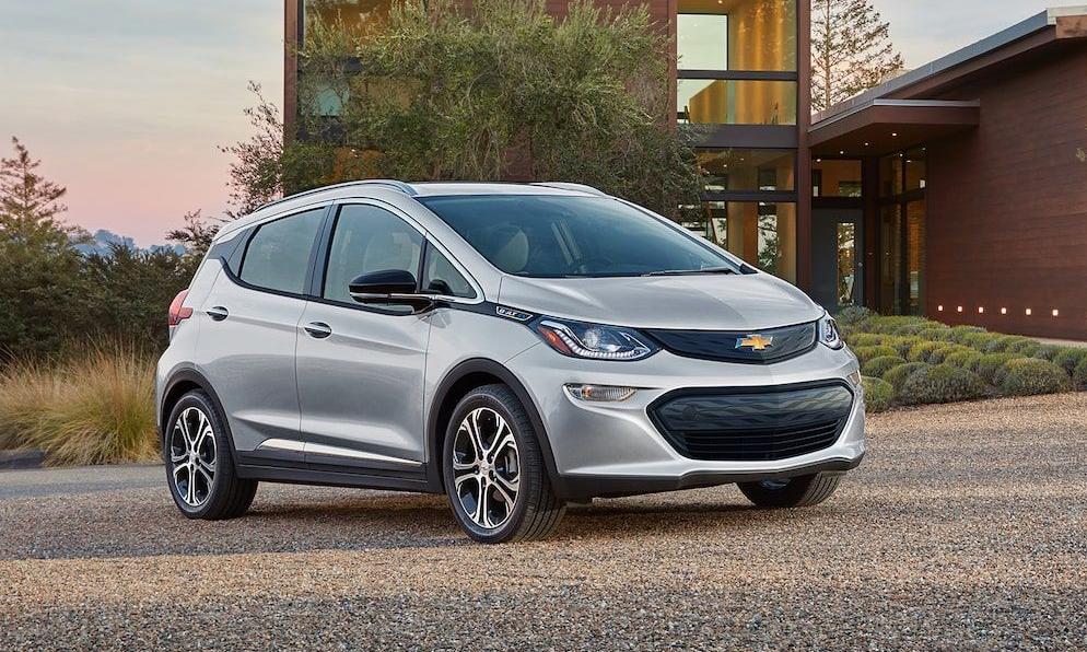 Chevrolet Bolt EV - mẫu xe điện thuộc diện triệu hồi do nguy cơ cháy. Ảnh: Chevrolet