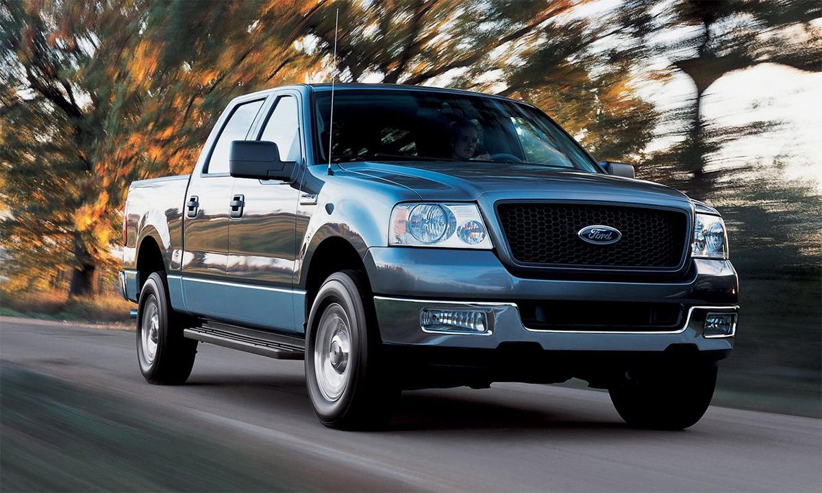 Mẫu bán tải cỡ lớn F-150 đời 2004 bị lấy cắp nhiều nhất ở Mỹ năm 2020. Ảnh: Ford