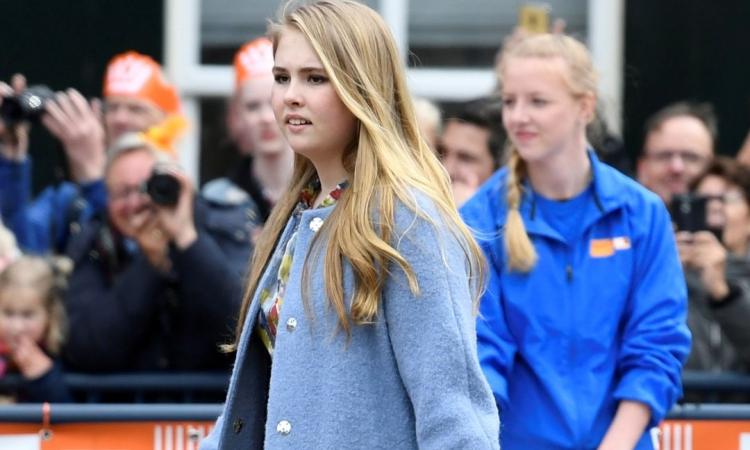 Công chúa Catharina-Amalia trong một sự kiện ở Amersfoort, Hà Lan, hồi tháng 4/2019. Ảnh: Reuters.