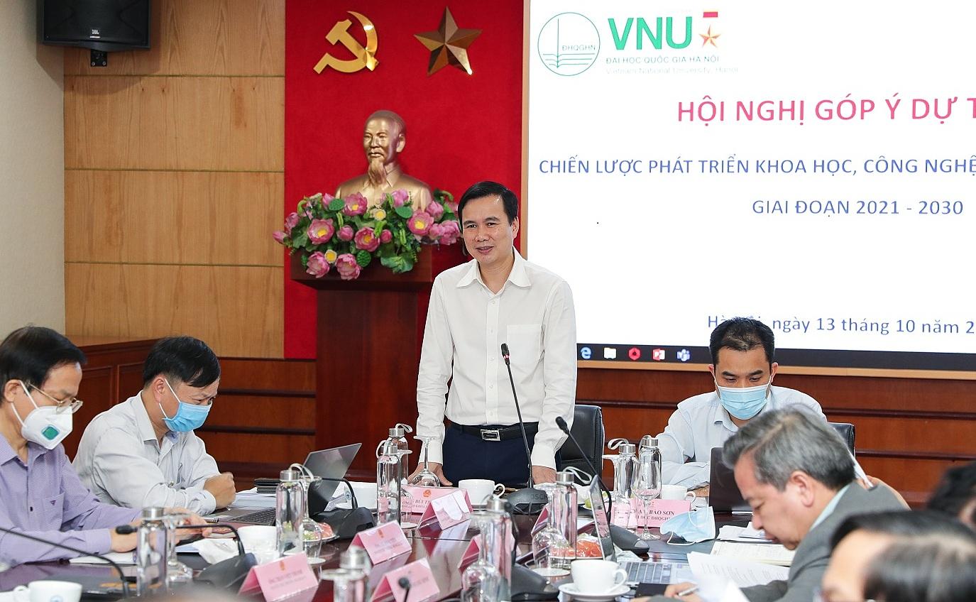 Thứ trưởng Bộ KHCN Bùi Thế Duy phát biểu tại hội nghị. Ảnh: TĐ