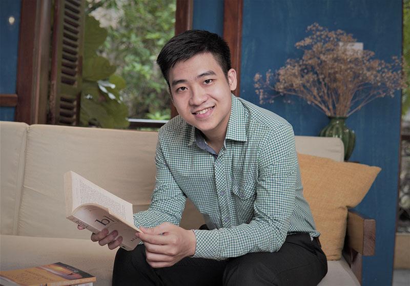 thầy Nguyễn Văn Anh (James Nguyễn) - Cử nhân tiếng Anh Nghề nghiệp Quốc tế (International Professional English) Đại học Marjon, Anh (8.0 IELTS).