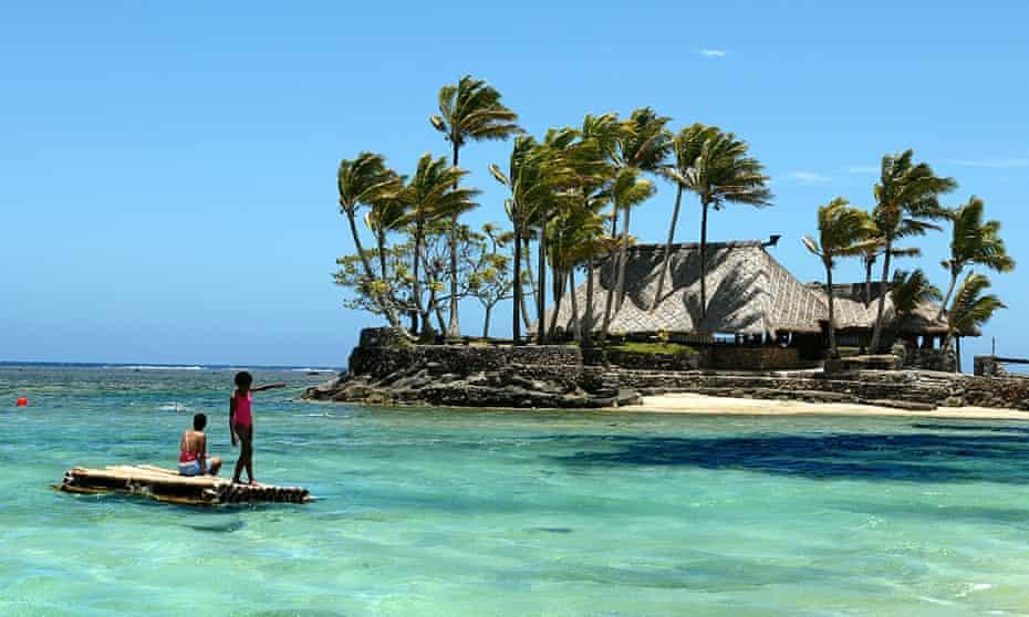 Một khu nghỉ dưỡng ở Fiji. Ảnh: AFP
