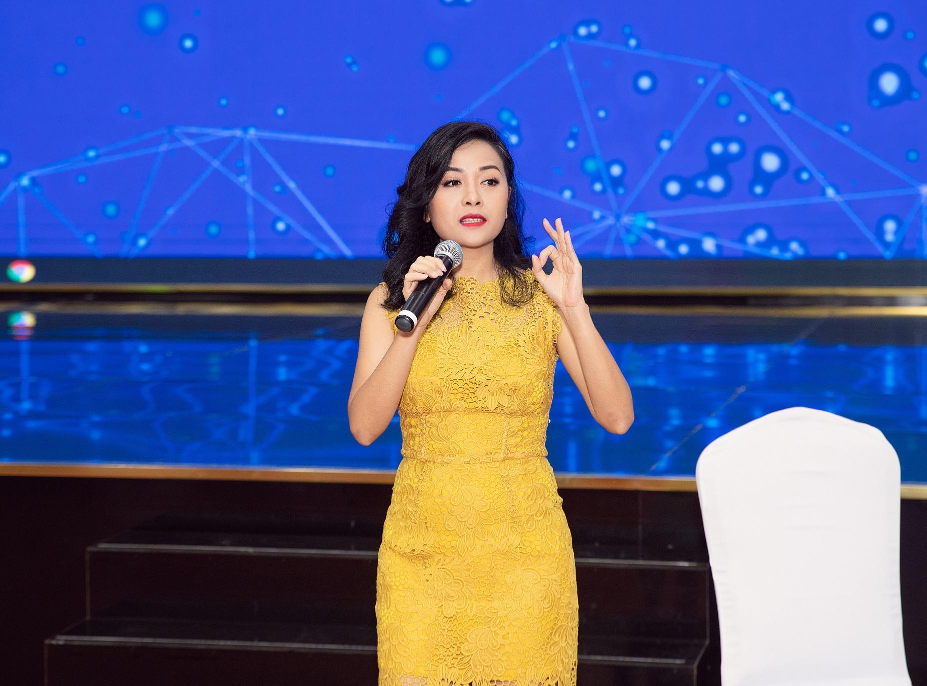 Bà Trần Uyên Phương, Phó tổng giám đốc Tân Hiệp Phát. Ảnh: Tân Hiệp Phát