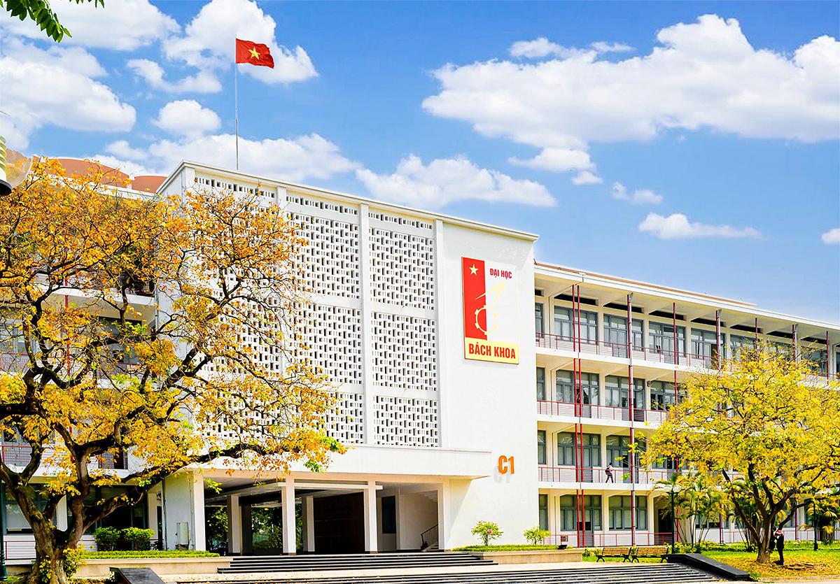 Một góc khuôn viên Đại học Bách khoa Hà Nội. Ảnh: HUST