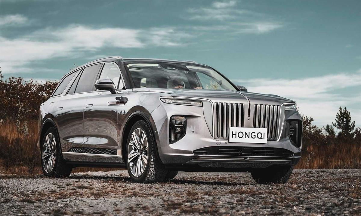 Hongqi E-HS9 - SUV điện Trung Quốc sắp bán ở Na Uy. Ảnh: Hongqi