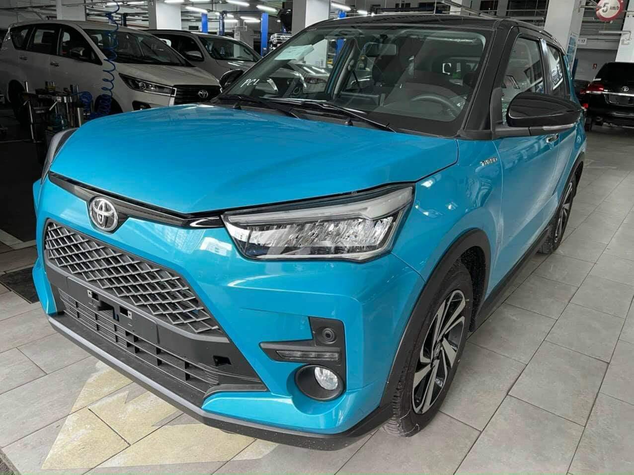 Mẫu Toyota Raize xuất hiện tại một đại lý khu vực Hà Nội. Ảnh: Facebook/Hội Toyota Raize Việt Nam