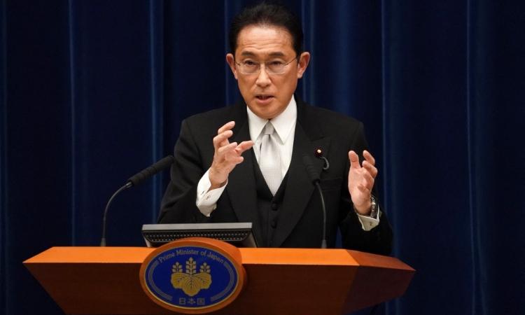 Thủ tướng Nhật Bản Fumio Kishida tại Tokyo hôm 4/10. Ảnh: AFP.
