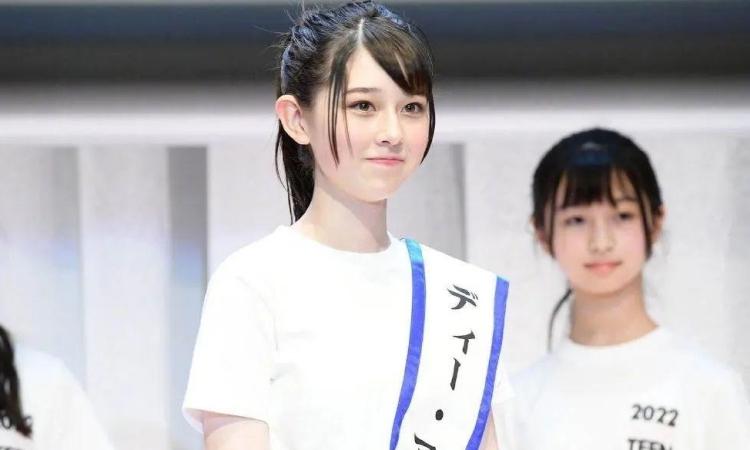 Miss Teen Nhật Bản 2022 Ishikawa Hana. Ảnh: Model Press.