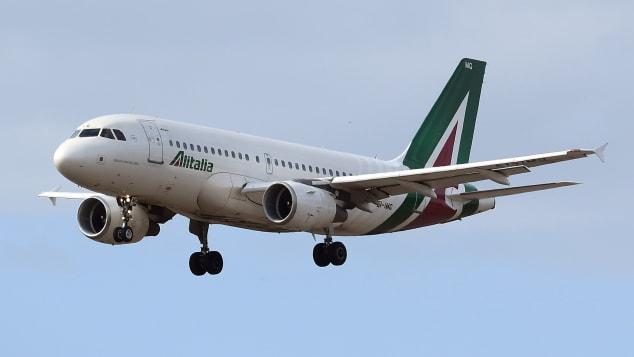 Một máy bay của hãng hàng không Alitalia. Ảnh: Mondadori Portfolio.