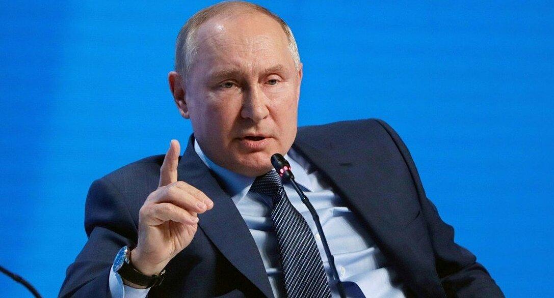 Tổng thống Nga Vladimir Putin phát biểu tại sự kiện Tuần Năng lượng Nga ở thủ đô Moskva hôm 13/10. Ảnh: Reuters.