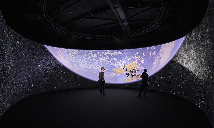 Hình ảnh vũ trụ hiển thị qua VIRUP có độ trung thực rất cao. Ảnh: EPFL